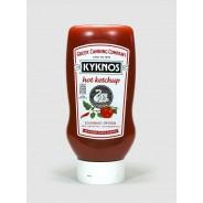 Kyknos томатный кетчуп острый 580г пластик