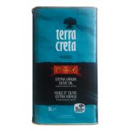 Terra Creta Estate оливковое масло Extra Virgin с о.Крит 3л жесть