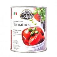Delphi томаты очищенные в cобственном соку 800г жесть