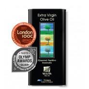 Sellas оливковое масло Extra Virgin 0,3% c п/o Пелопоннес 3л жесть (1л=750р)