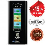 Sellas оливковое масло Extra Virgin 0,3% c п/o Пелопоннес 5л жесть