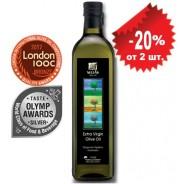 Sellas оливковое масло Extra Virgin 0,3% c п/o Пелопоннес 1л стекло