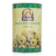 Delphi зеленые оливки ATLAS 70/90 б/к в рассоле 4250г жесть