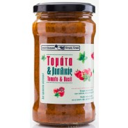 Simply Greek cоус из томатов и базилика 280г стекло