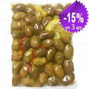 "Attica Food гигантские оливки ""Damaskino"" 500г вакуум"