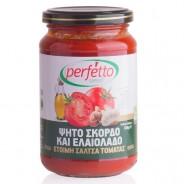 Perfetto special соус томатный с чесноком и оливковым маслом 350г стекло