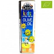 Delphi оливковое масло для детей Extra Virgin Organic (Bio) с о.Крит 500мл жесть