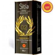 Sitia оливковое масло Extra Virgin PREMIUM GOLD 0,2% P.D.O. Sitia с о.Крит 5л жесть