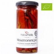 Naoumidis перец красный сладкий дольками Organic (Bio) 260г стекло