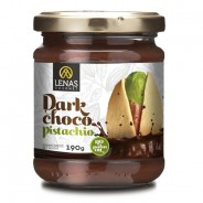 Lenas Крем из темного шоколада и фисташек 190г стекло