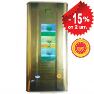 Sellas оливковое масло Extra Virgin 0,3% P.D.O. Kalamata c п/o Пелопоннес 5л жесть
