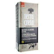 Terra Creta Estate оливковое масло Extra Virgin с о.Крит 5л жесть