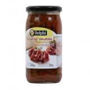 Delphi томаты сушеные в подсолнечном масле 340г стекло