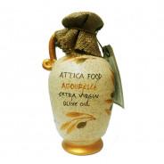 Attica Food оливковое масло Agoureleo Extra Virgin нефильтр. 0,2% с п/о Пелопоннес 500мл керамика