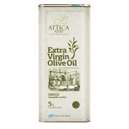 Attiсa Food оливковое масло Extra Virgin 0,3% c п/o Пелопоннес 5л жесть