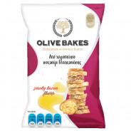 Сухарики пшеничные со вкусом бекона, Olive Bakes, 80г