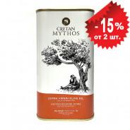 Cretan Mythos оливковое масло Extra Virgin с о.Крит 1л жесть
