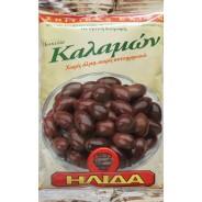 """Ilida оливки """"Kalamon"""" c п/о Пелопоннес в оливковом масле Extra Virgin 250г фольга"""