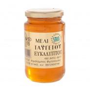 Fotopoulos мёд с эвкалиптом (пыльцой эвкалипта) c п/o Пелопоннес 460г стекло