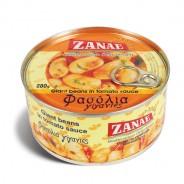 Zanae печеная гигантская фасоль в томатном соусе 280г жесть