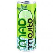 Напиток безалкогольный со вкусом махито Green Mad Majito, 330мл, жесть