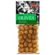 Ilida зеленые оливки с орегано 150г вакуум