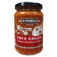 Kyknos соус из томатов, корицы и чеснока 350г стекло