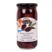 Delphi натуральные маслины в рассоле 350г стекло