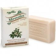 """Anemos """"Mirovolos"""" белое мыло с мастикой о.Хиоc 100г"""