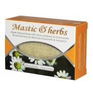 Anemos Mactic & herbs мыло с мастикой о.Хиос и ромашкой 125г