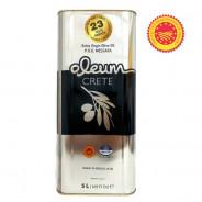 OLEUM CRETE оливковое масло Extra Virgin P.D.O. Mеssara с о.Крит 5л жесть