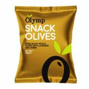 """Маслины вяленые с косточкой, с лавандой и травами """"Olymp"""" 70г фольга"""