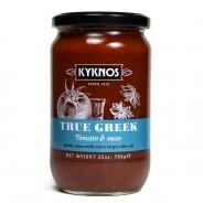 Kyknos соус из томатов и узо 709г стекло