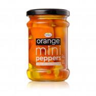 Royal перец мини оранжевый сладкий, фаршированный сыром 250г стекло