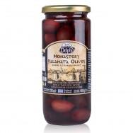 """Delphi маслины """"Каламата"""" в рассоле Монастырские 480г стекло"""