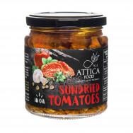 Вяленые помидоры в подсолнечном масле Attica Food 270г стекло