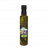 Cretan Taste оливковое масло Extra Virgin с травами для салата с о.Крит 250мл стекло