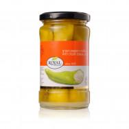 Royal перец зеленый острый, фаршированный сыром 285г стекло