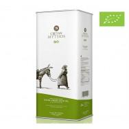 Cretan Mythos оливковое масло Extra Virgin Organic (Bio) с о.Крит 5л жесть (1л=798р)