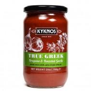 Kyknos соус из томатов, орегано и запеченного чеснока 709г стекло