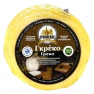 """Сыр полутвёрдый """"Греко классика"""" 200-230г вакуум"""