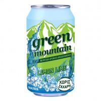 Напиток безалкогольный газированный Green Mountain, 330мл, жесть