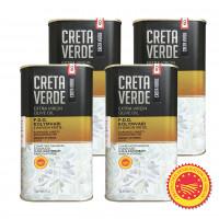Creta Verde оливковое масло Extra Virgin P.D.O. Kolymvari с о.Крит 4штх1л жесть (1шт=872р)
