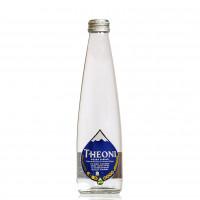Вода минеральная питьевая природная столовая газированная THEONI 330мл стекло