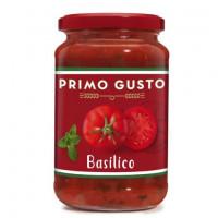 Соус томатный с базиликом Primo Gusto 350г  стекло